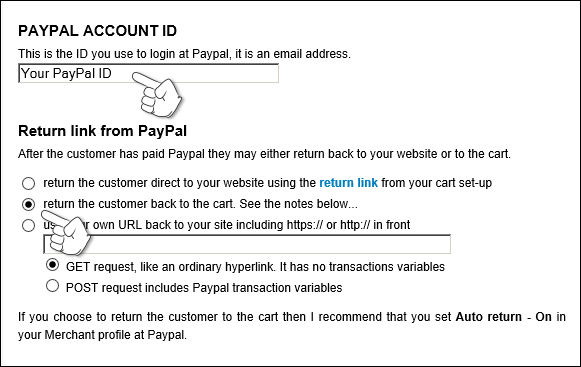 How to setup PayPal to work with my website - Knowledgebase