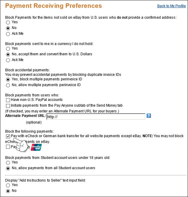 How to setup PayPal to work with my website - Knowledgebase - Pappashop